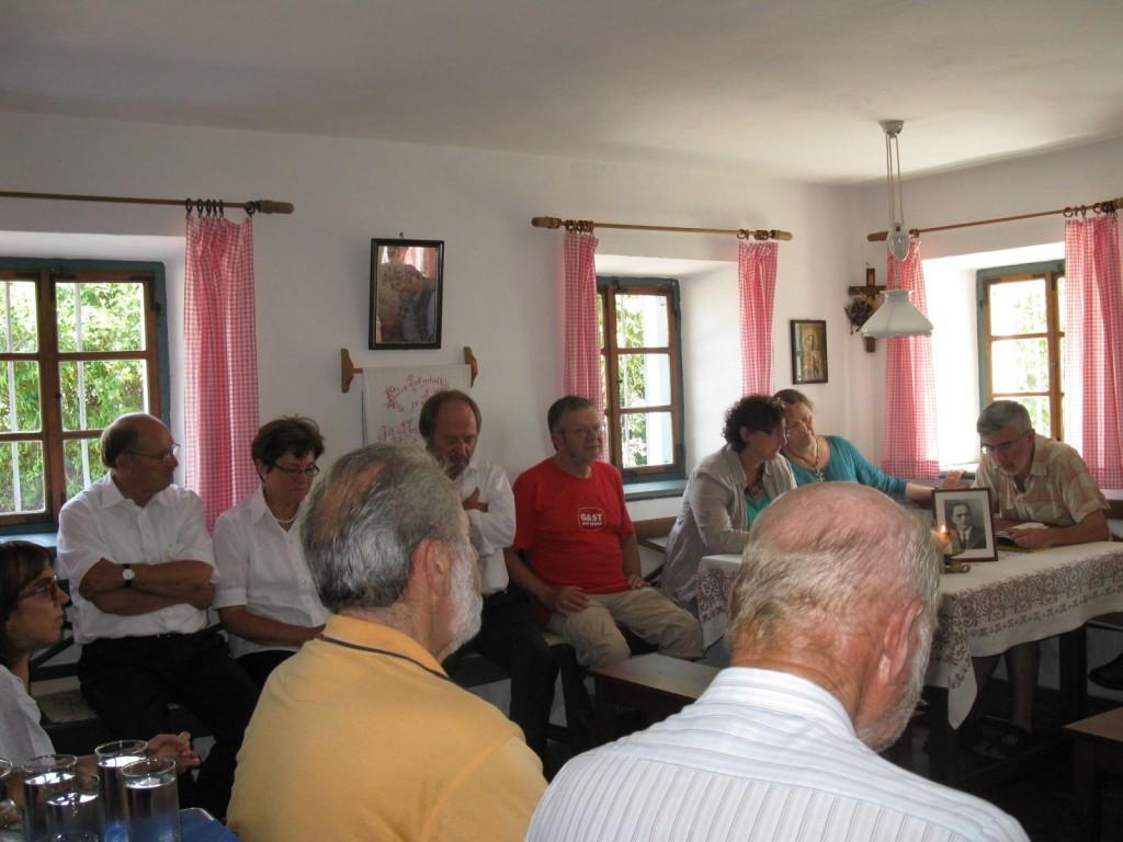 Lesung von Pax Christi im Jägerstätterhaus Pax Christi Lesung